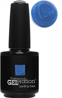 Jessica GELeration UV Gel Nail Polish - Karma 2015 - Krishna Blue